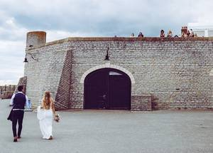Wedding in Lyme Regis, Dorset